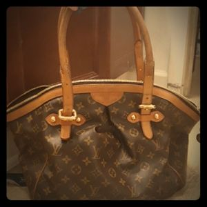 AUTHENTIC DISCONTINUED Louis Vuitton Tivoli Gm Bag